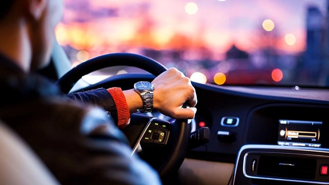 За рулём автомобиля