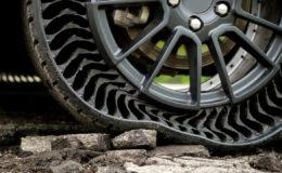 Почему мы до сих пор не пользуемся безвоздушными шинами