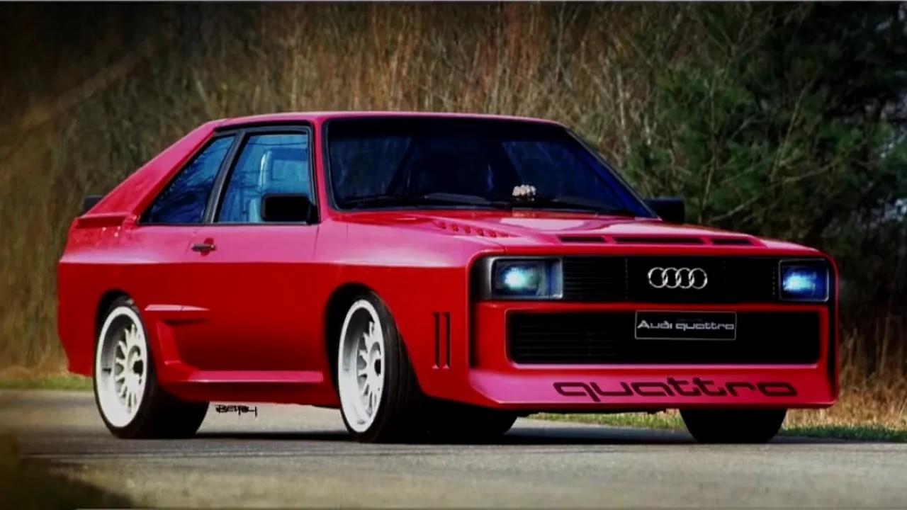 Audi Sport Quattro by TheSketchMonkey