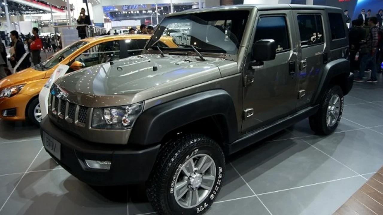 Китайская копия Jeep Wrangler