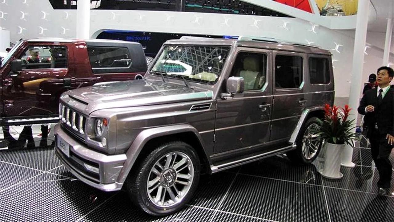 Китайская копия Mercedes-Benz G-Class