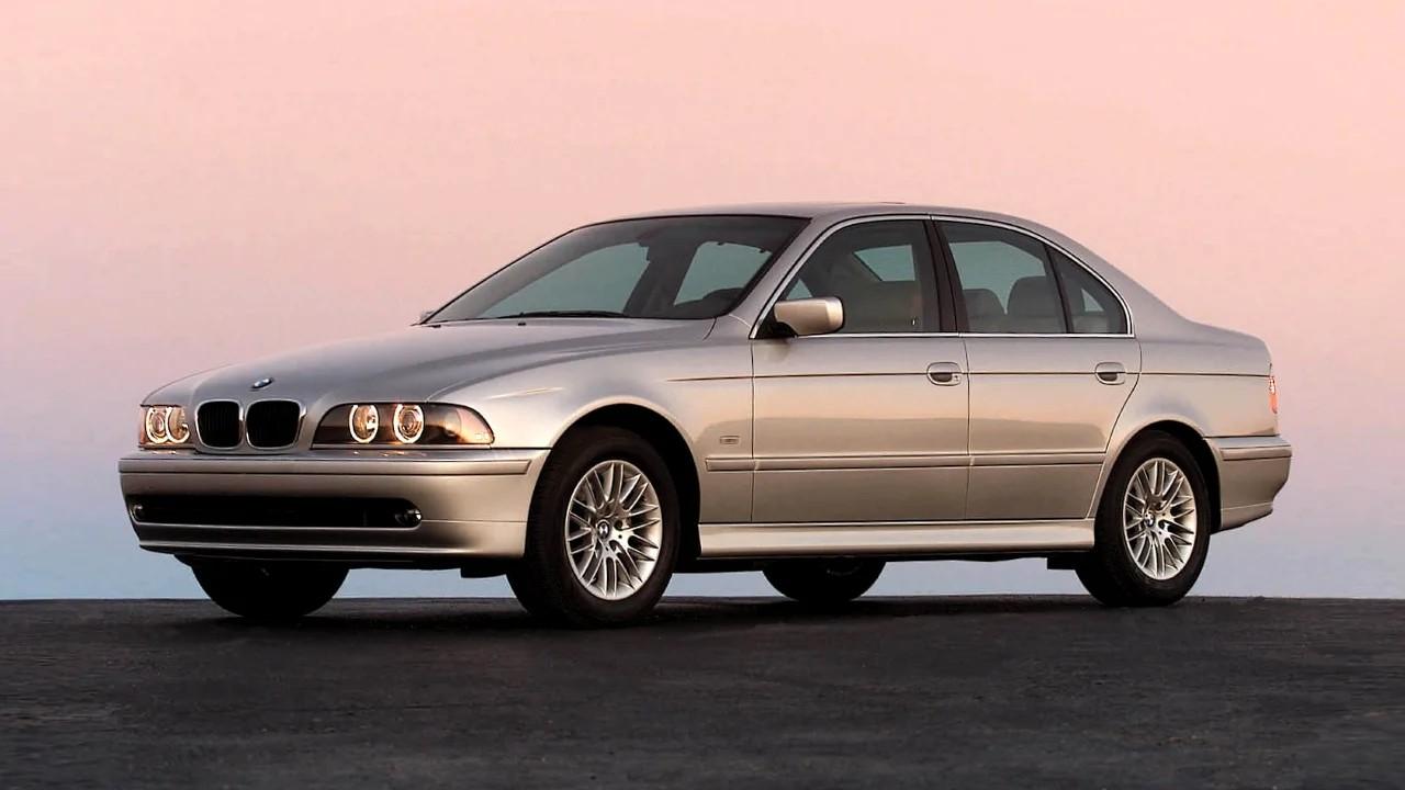 Необычные фары BMW 5-Series (E39)
