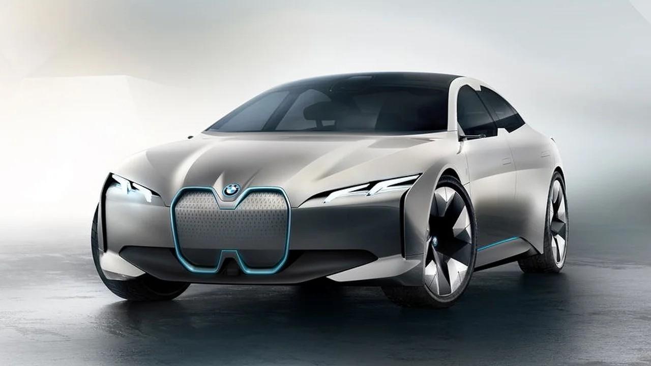 Электромобиль BMW i4 EV