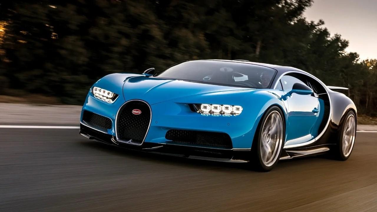 Цвет Bugatti Blue