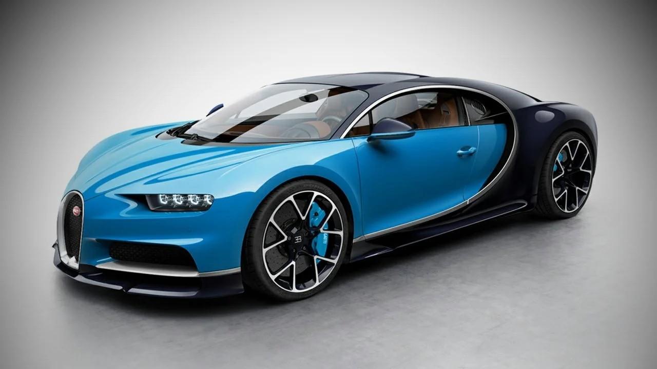 Bugatti Chiron - 2,3 секунды от 0 до 100 км. / ч.