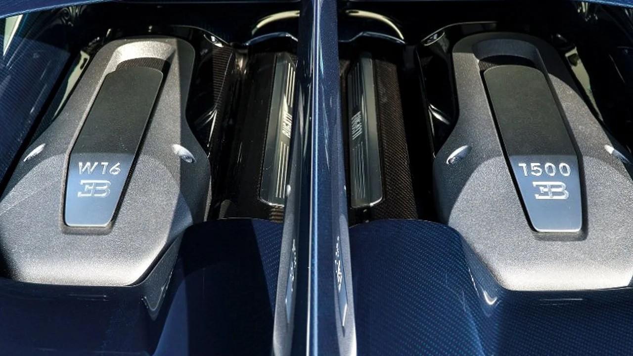 Самый мощный 16-цилиндровый двигатель