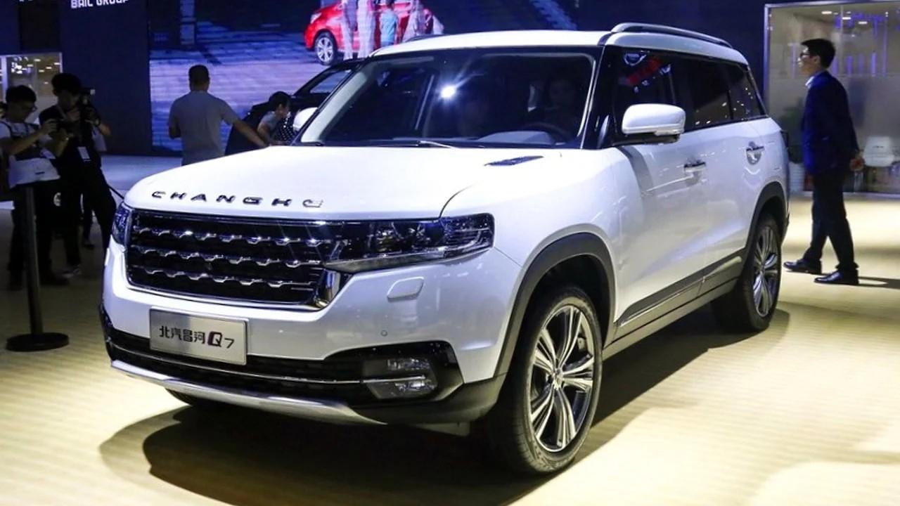 Китайская копия Range Rover Vogue