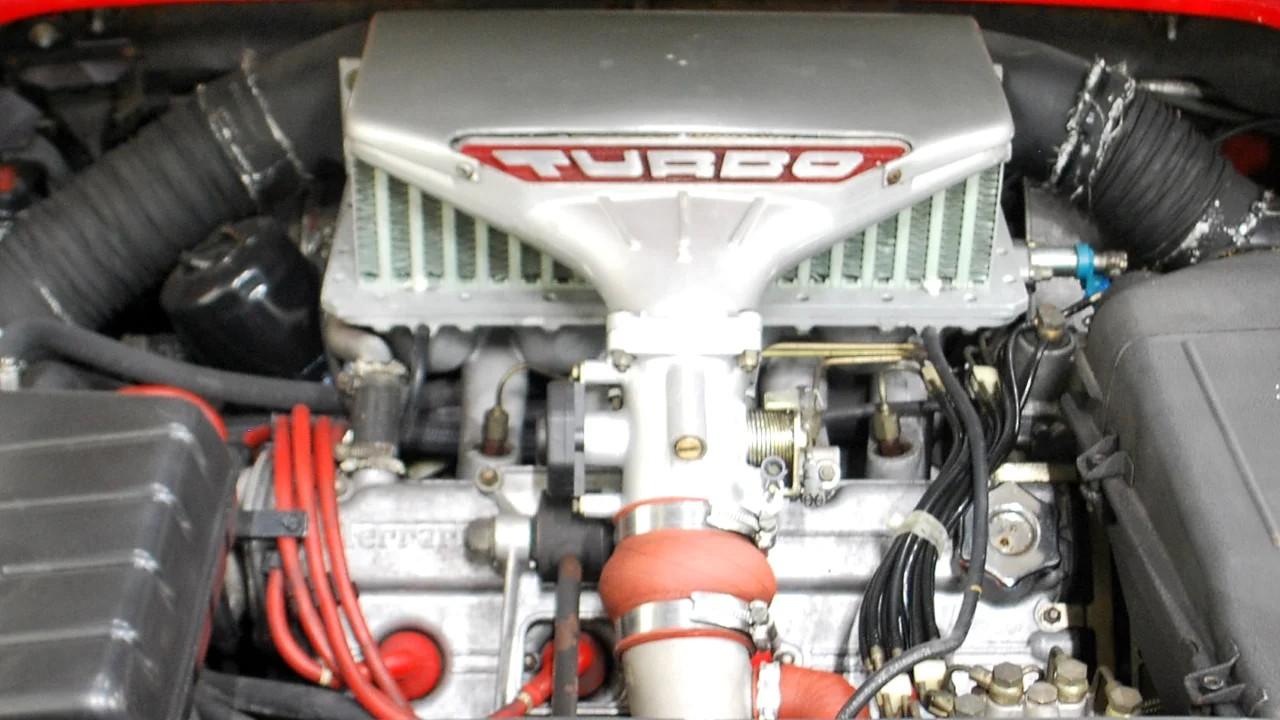Двигатель Ferrari Dino F106