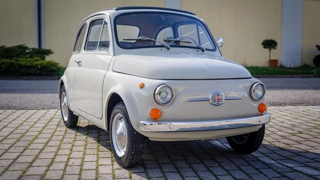Классический Fiat 500