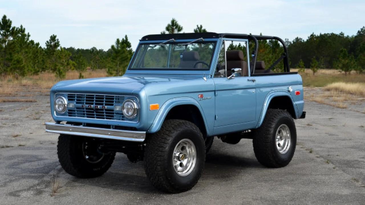 Легендарный внедорожник Ford Bronco