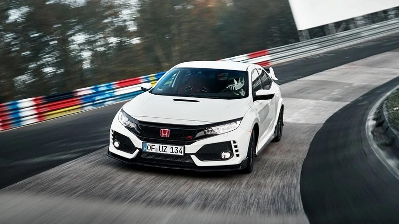 10 спортивных автомобилей, которые медленнее Honda Civic Type-R