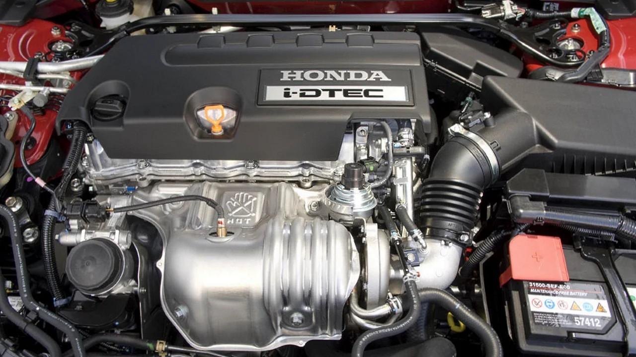 Надёжный дизельный двигатель Honda N22