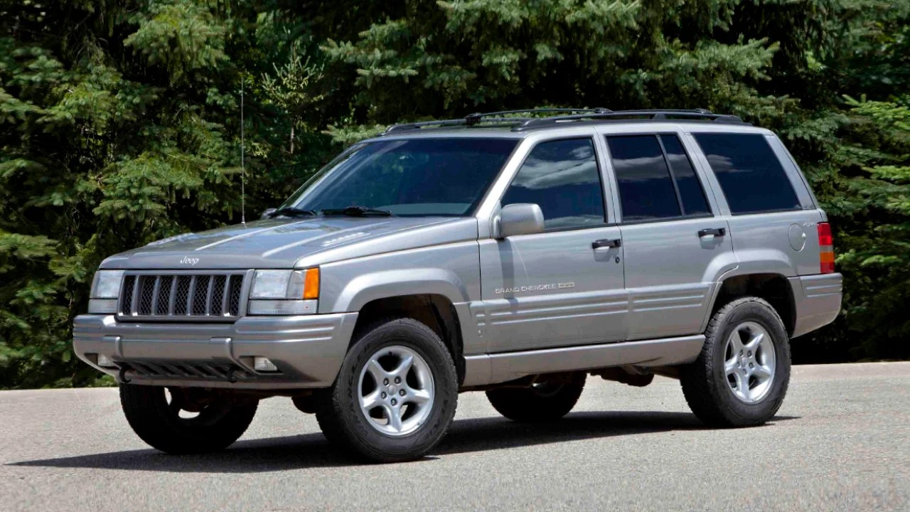 Легендарный внедорожник Jeep Grand Cherokee ZJ
