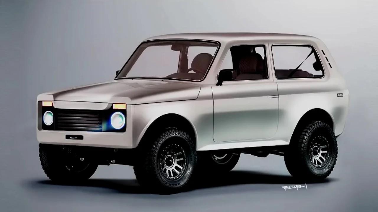 Lada Niva by TheSketchMonkey