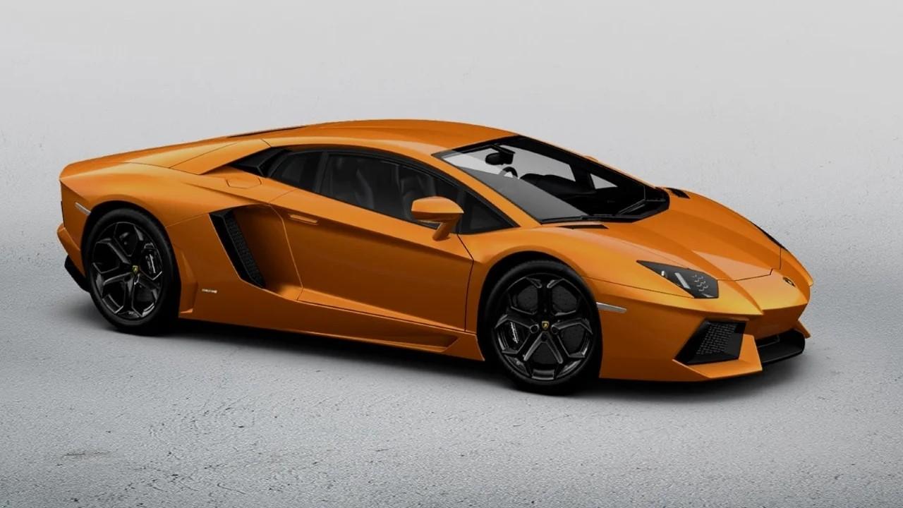 Lamborghini Aventador - 2,7 секунды от 0 до 100 км. / ч.