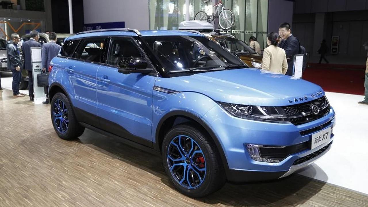 Китайская копия Range Rover Evoque