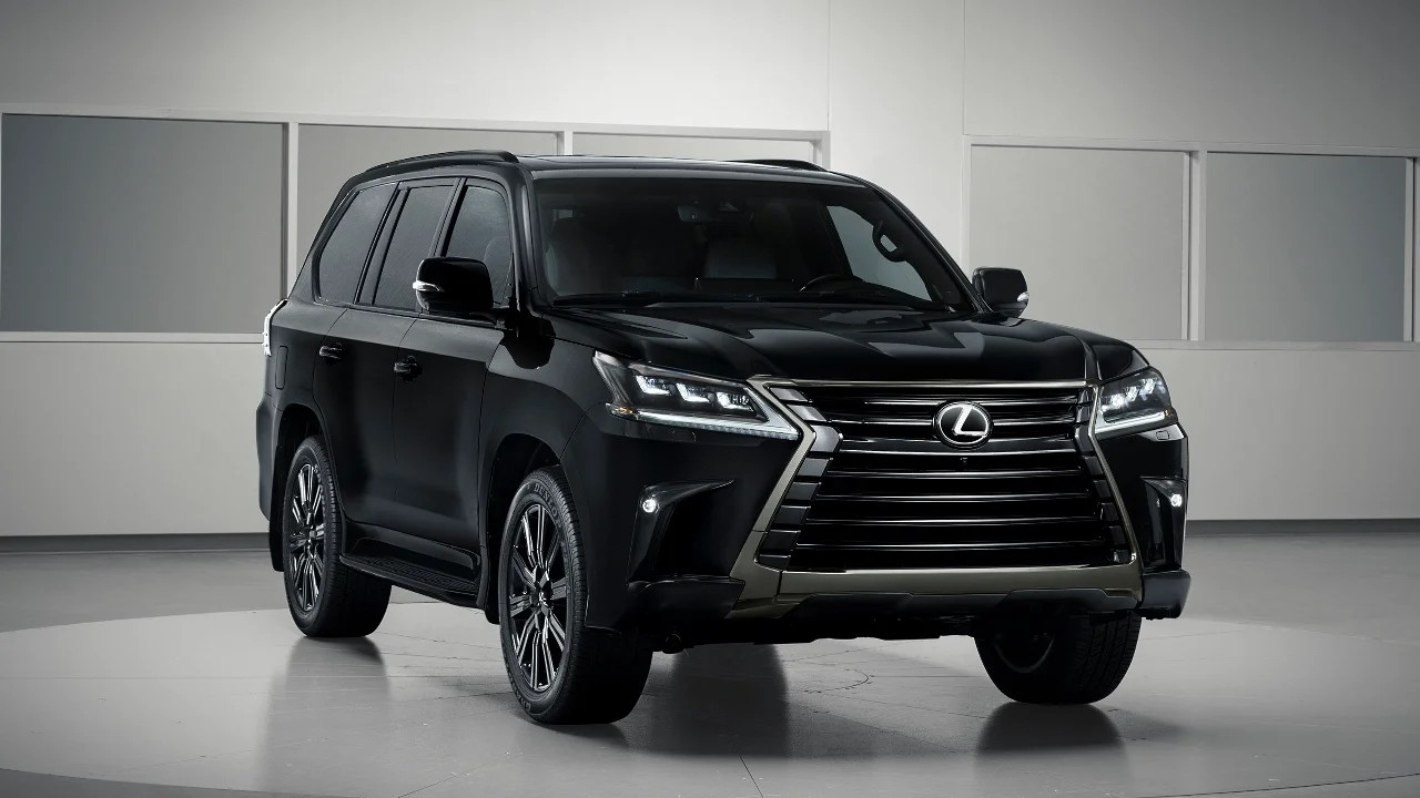 Брутальный внедорожник Lexus LX