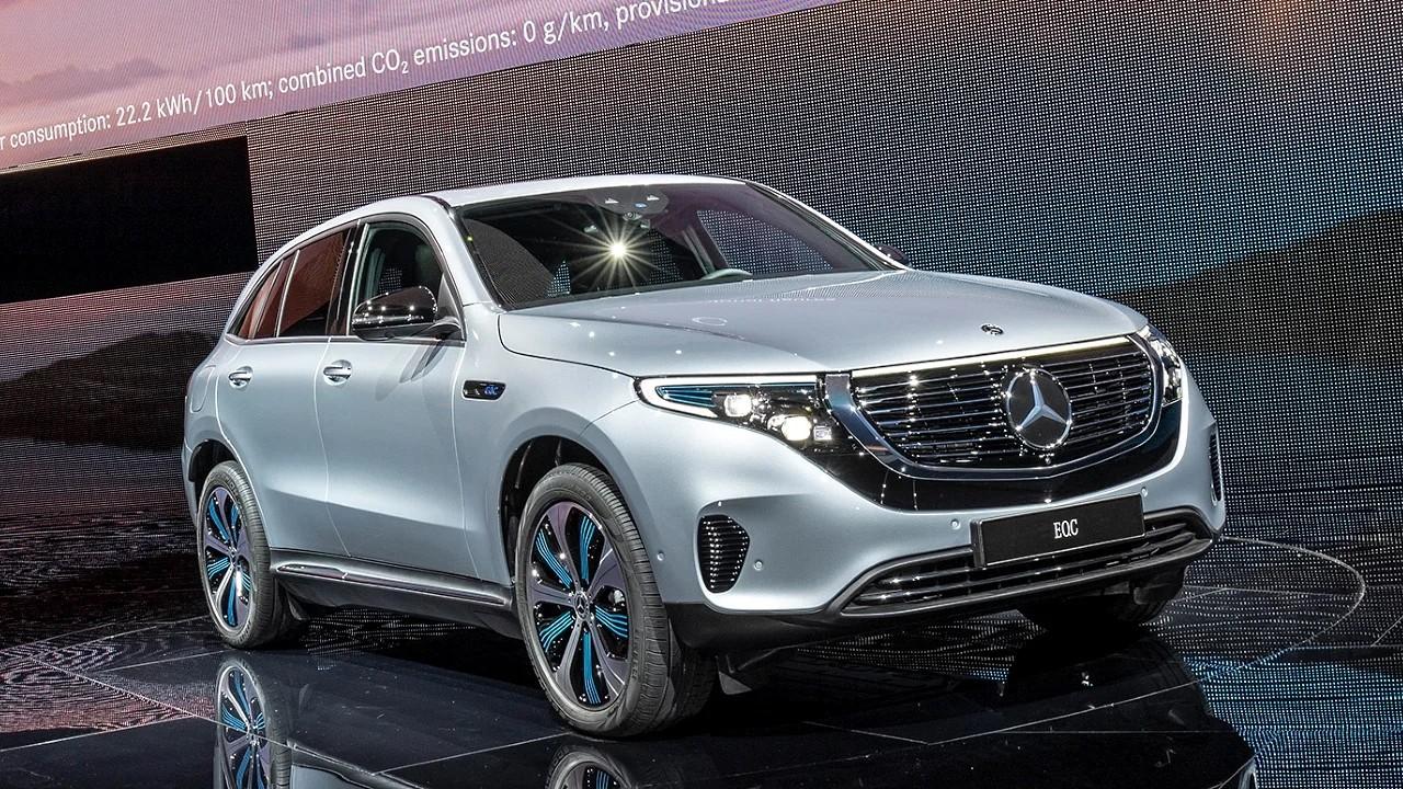 Электромобиль Mercedes-Benz EQC