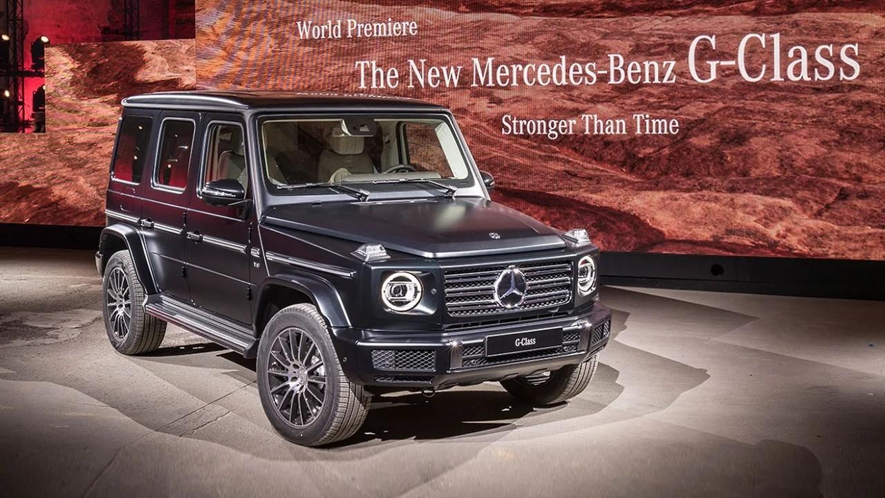 Мощный внедорожник Mercedes-Benz G63 AMG