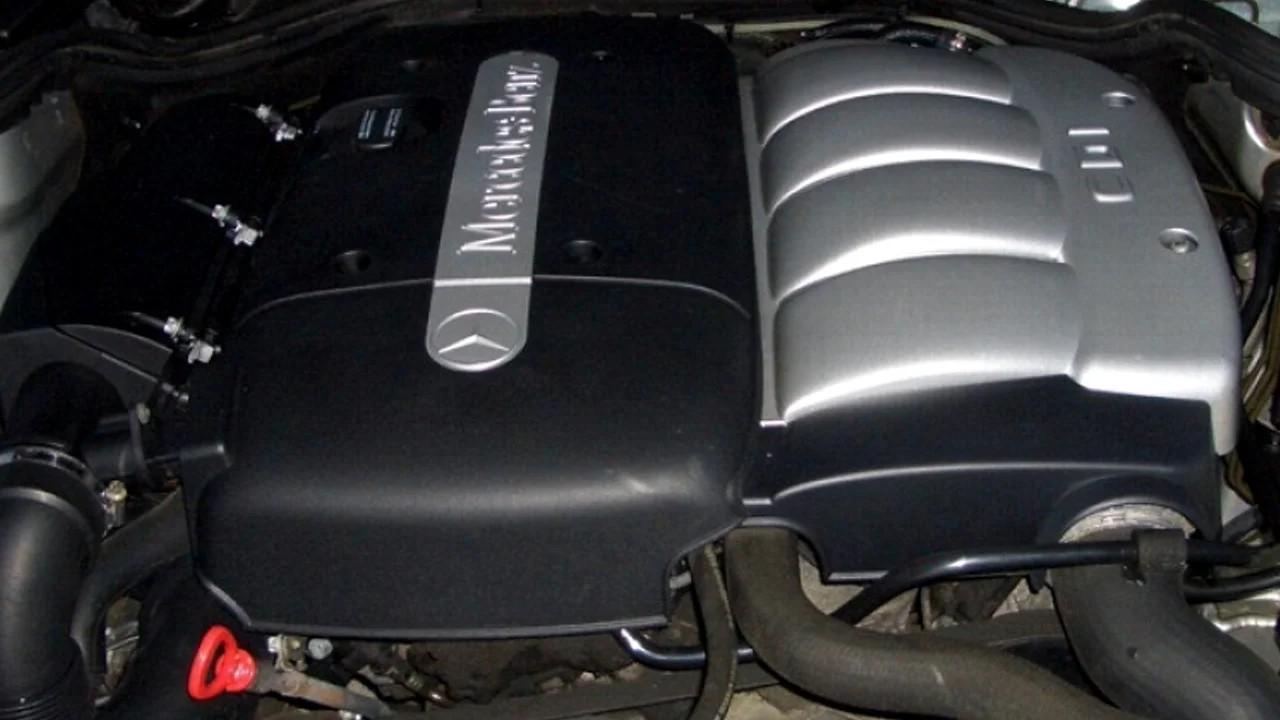 Надёжный дизельный двигатель Mercedes-Benz OM611