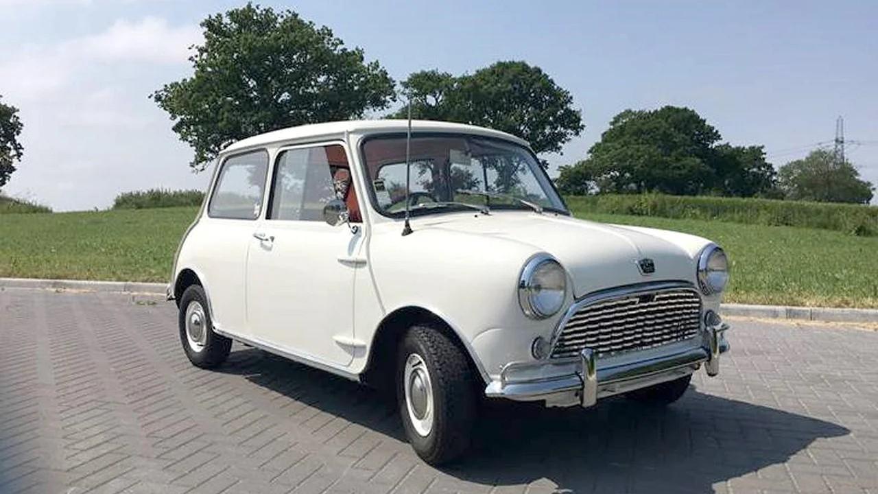 Классический Mini Cooper
