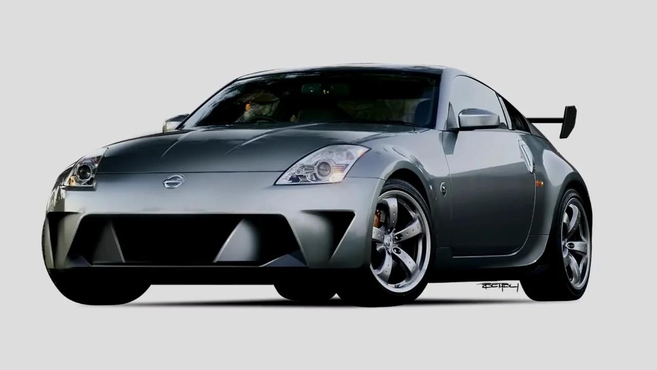 Nissan 350z by TheSketchMonkey