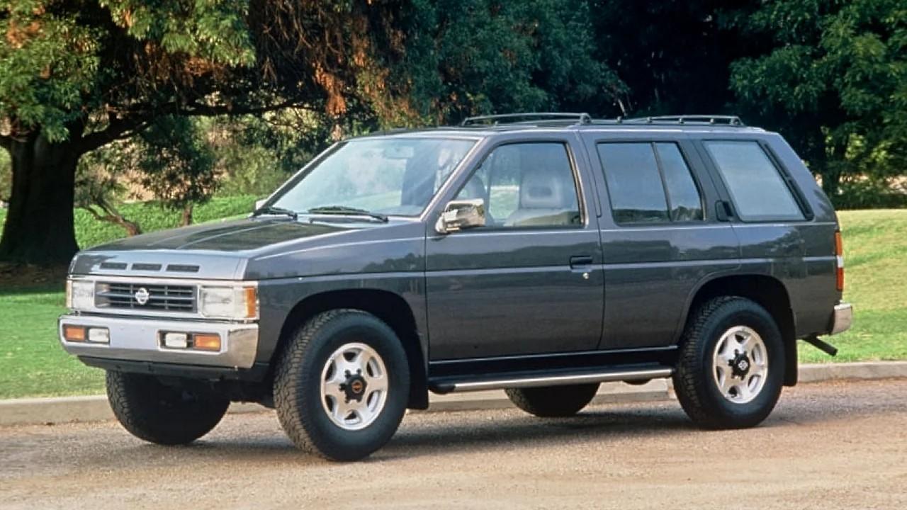 Легендарный внедорожник Nissan Pathfinder WD21