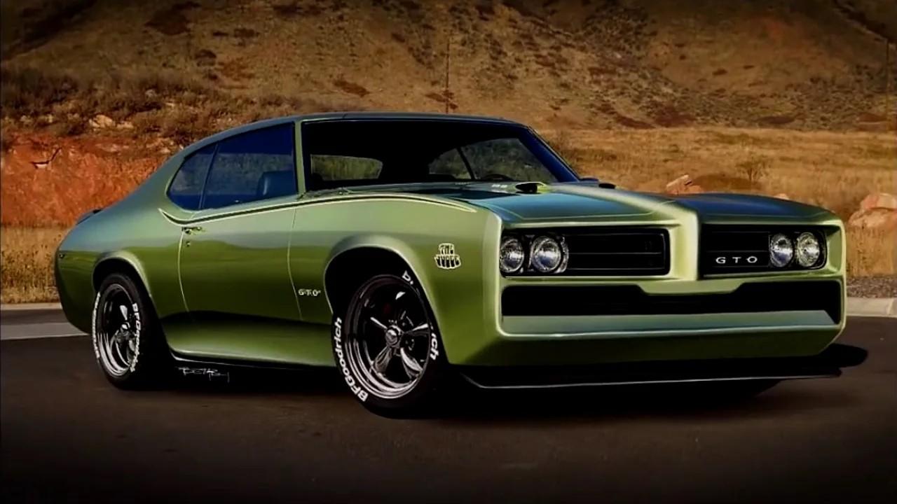 Pontiac GTO by TheSketchMonkey