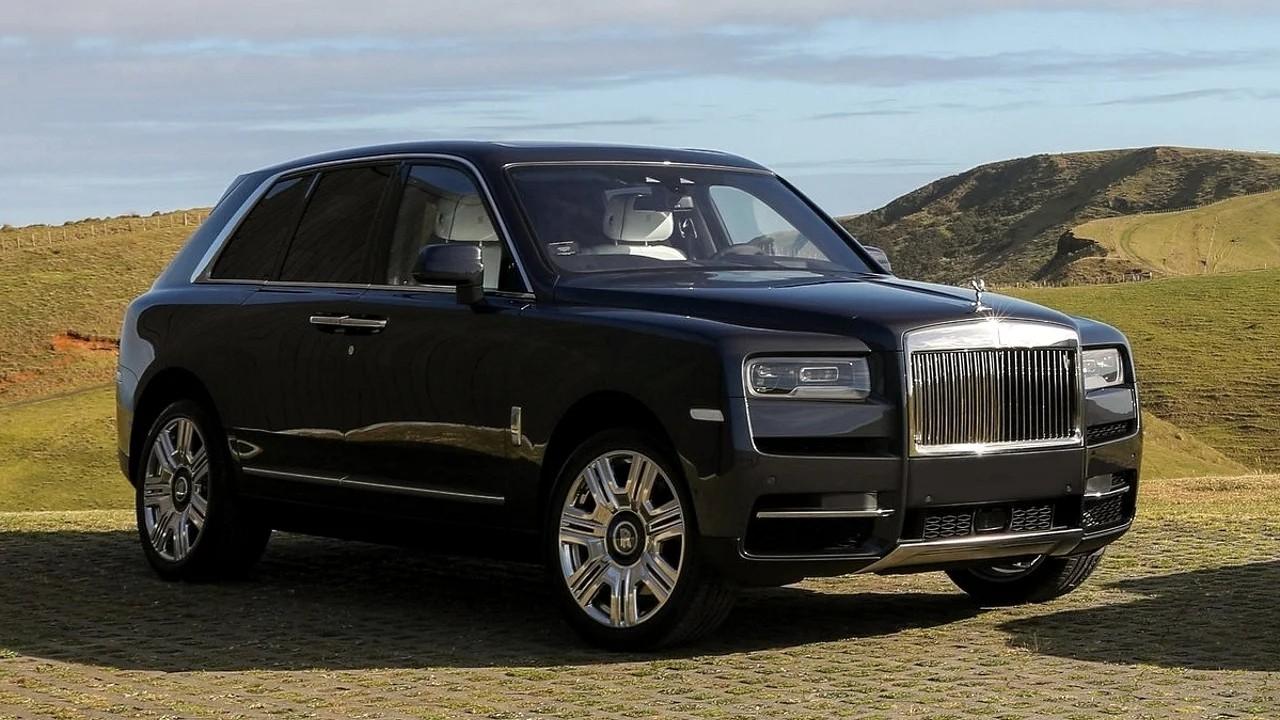 Брутальный внедорожник Rolls Royce Cullinan