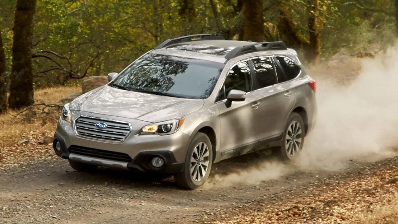 Надёжный среднеразмерный  внедорожник Subaru Outback