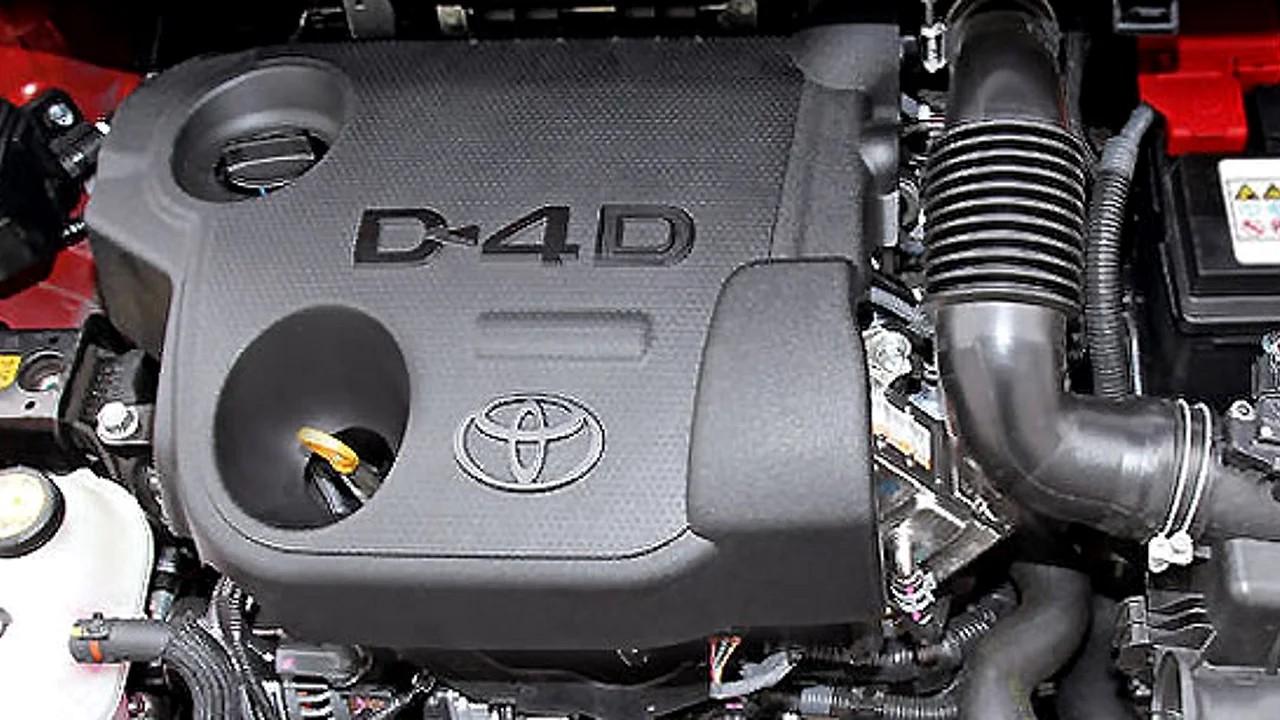 Надёжный дизельный двигатель Toyota 1ND-TV