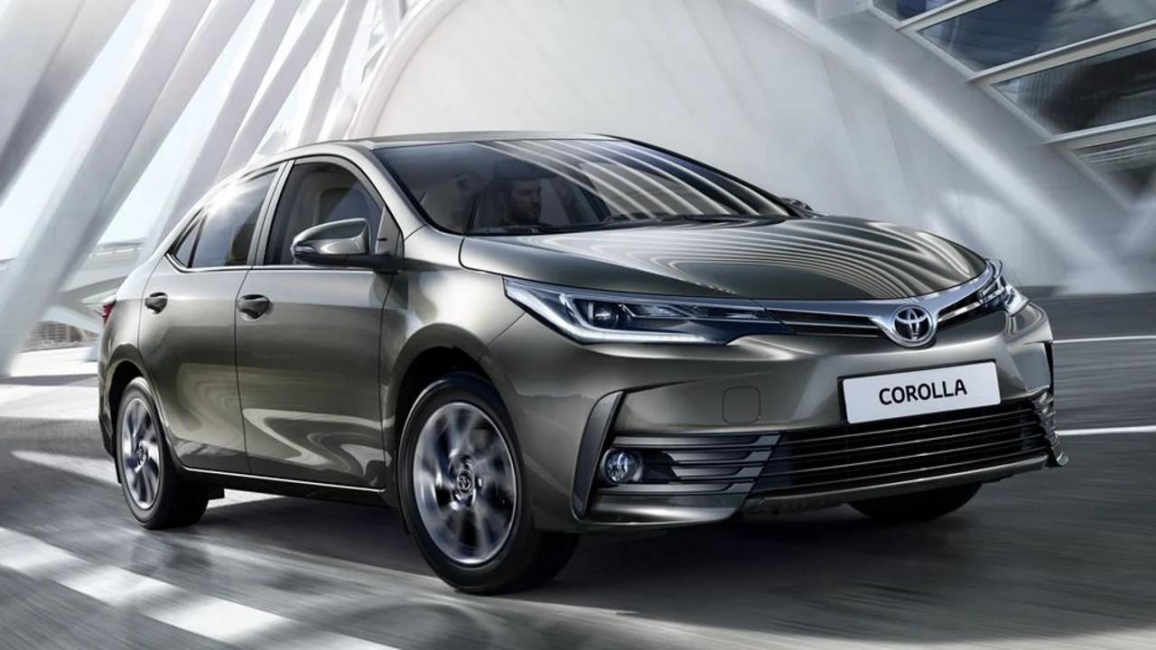 Toyota Corolla продано более 43 000 000