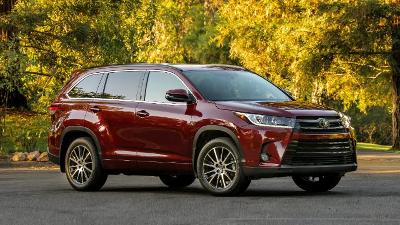 Надёжный внедорожник Toyota Highlander