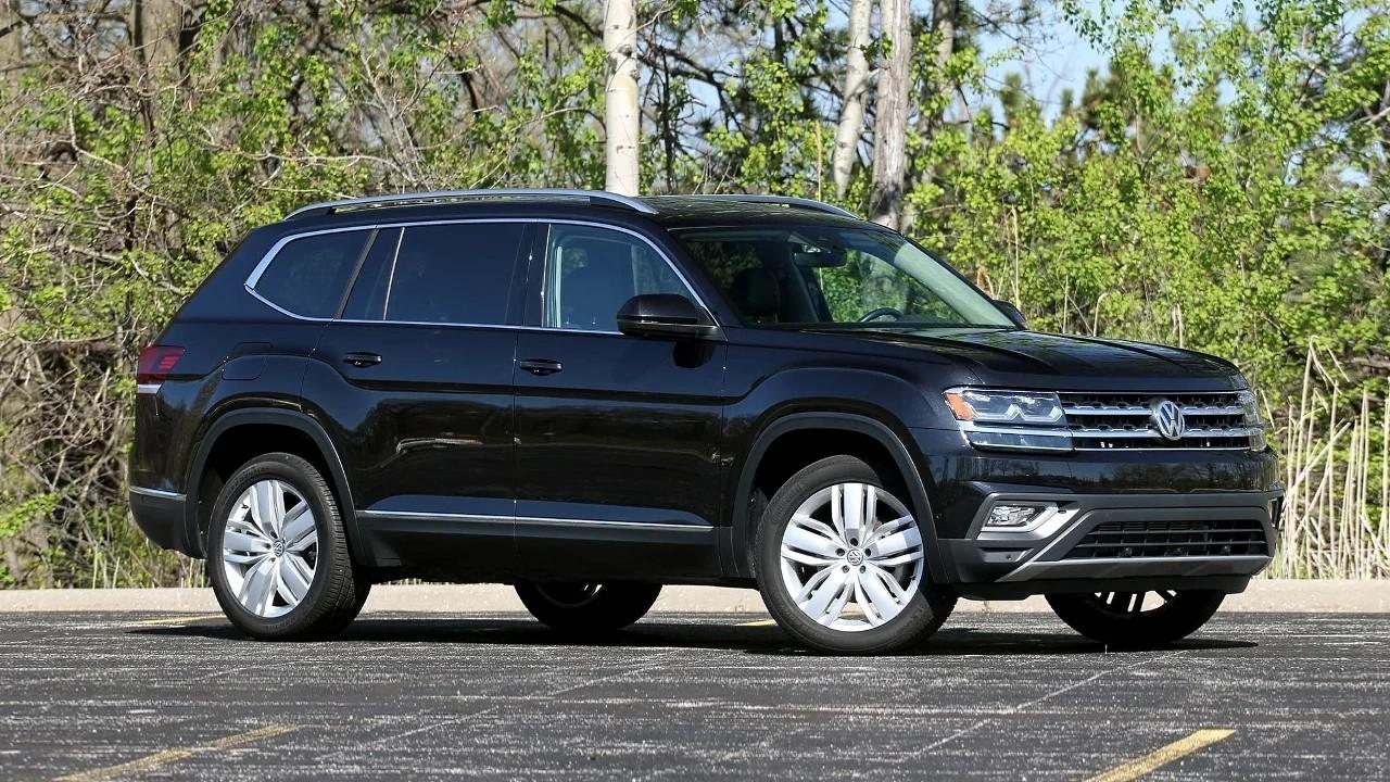 Брутальный внедорожник Volkswagen Teramont