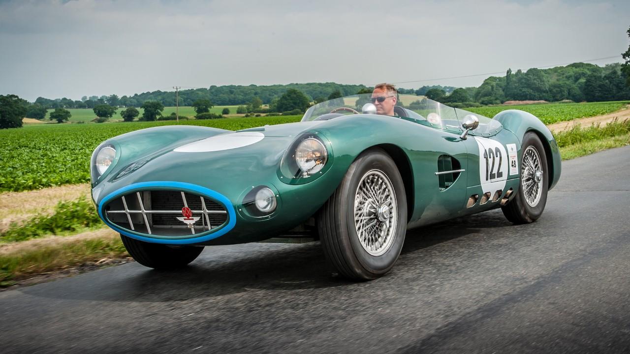 Редкий автомобиль Aston Martin