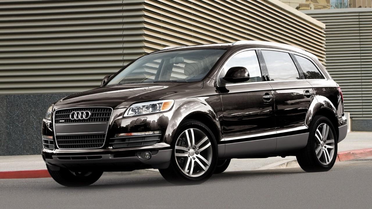 Первый внедорожник Audi