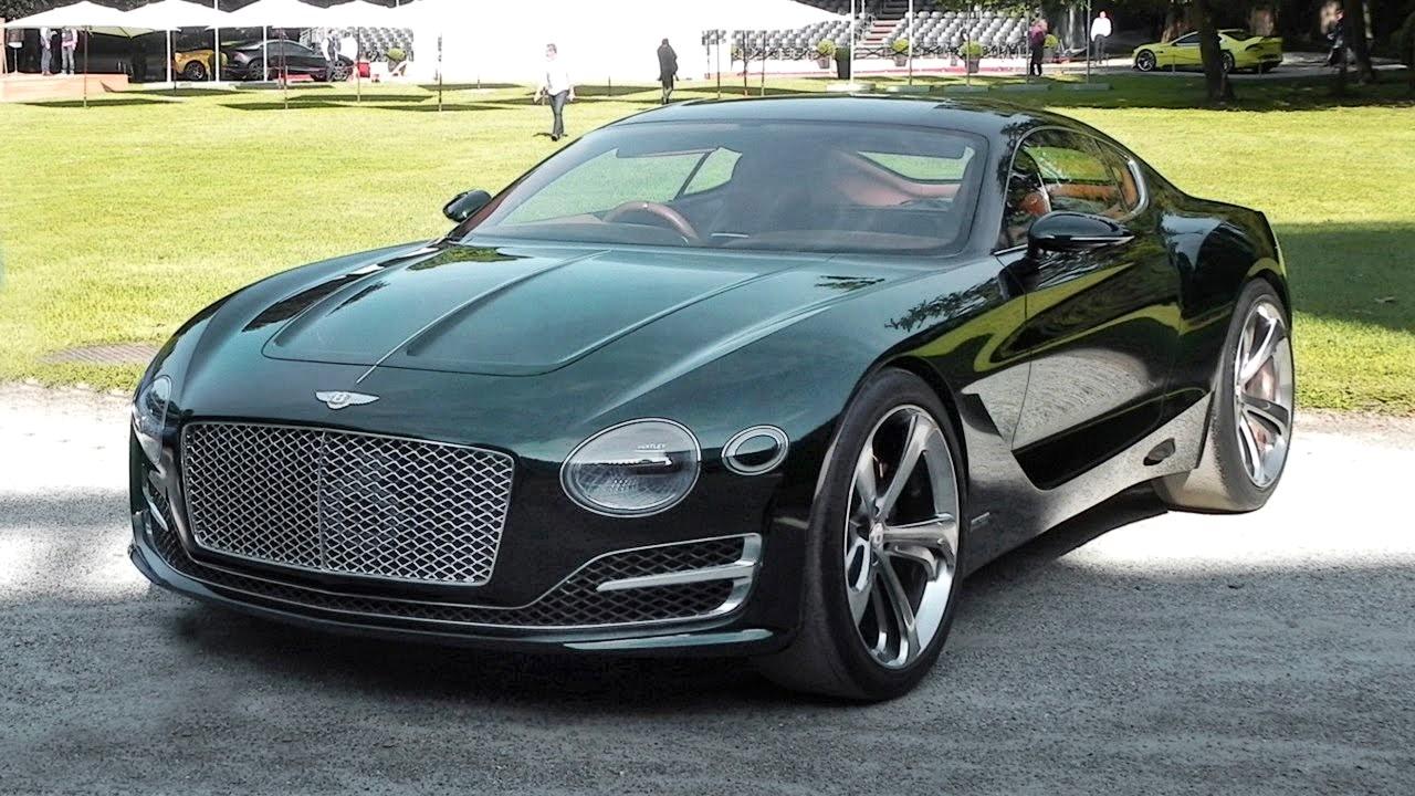 Напечатанный на 3D принтере автомобиль Bentley EXP 10 Speed 6