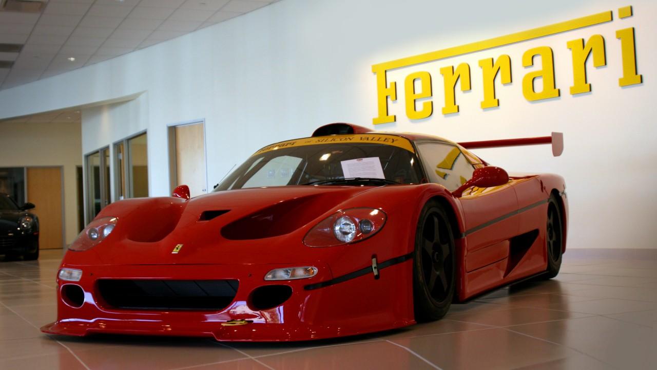 Редкий автомобиль Ferrari
