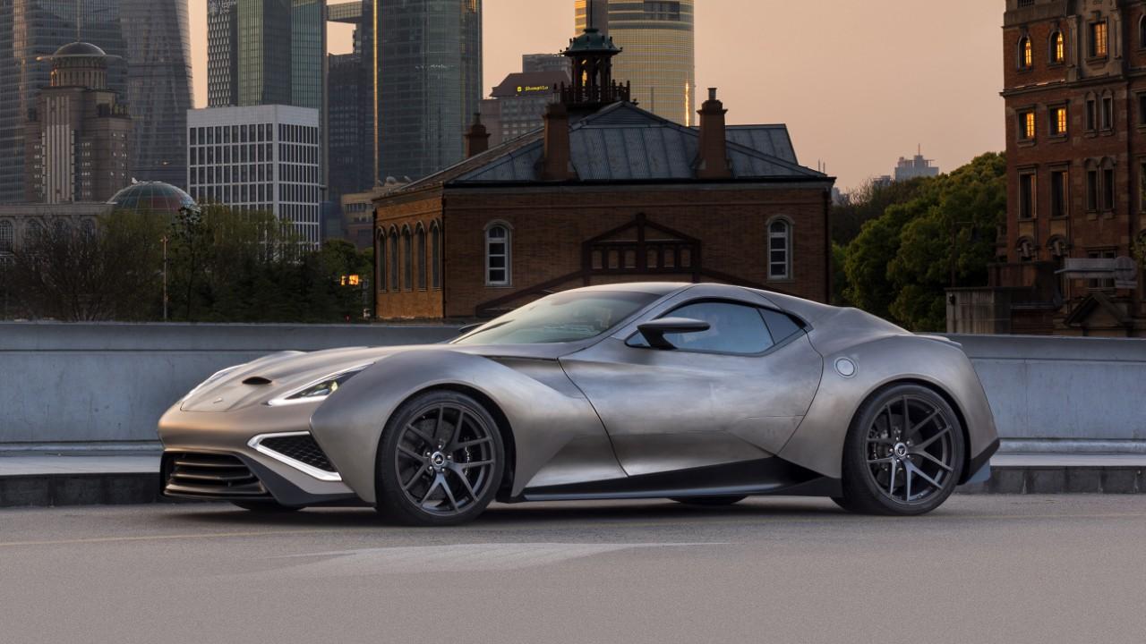 Редкий автомобиль Icona Vulcano Titanium