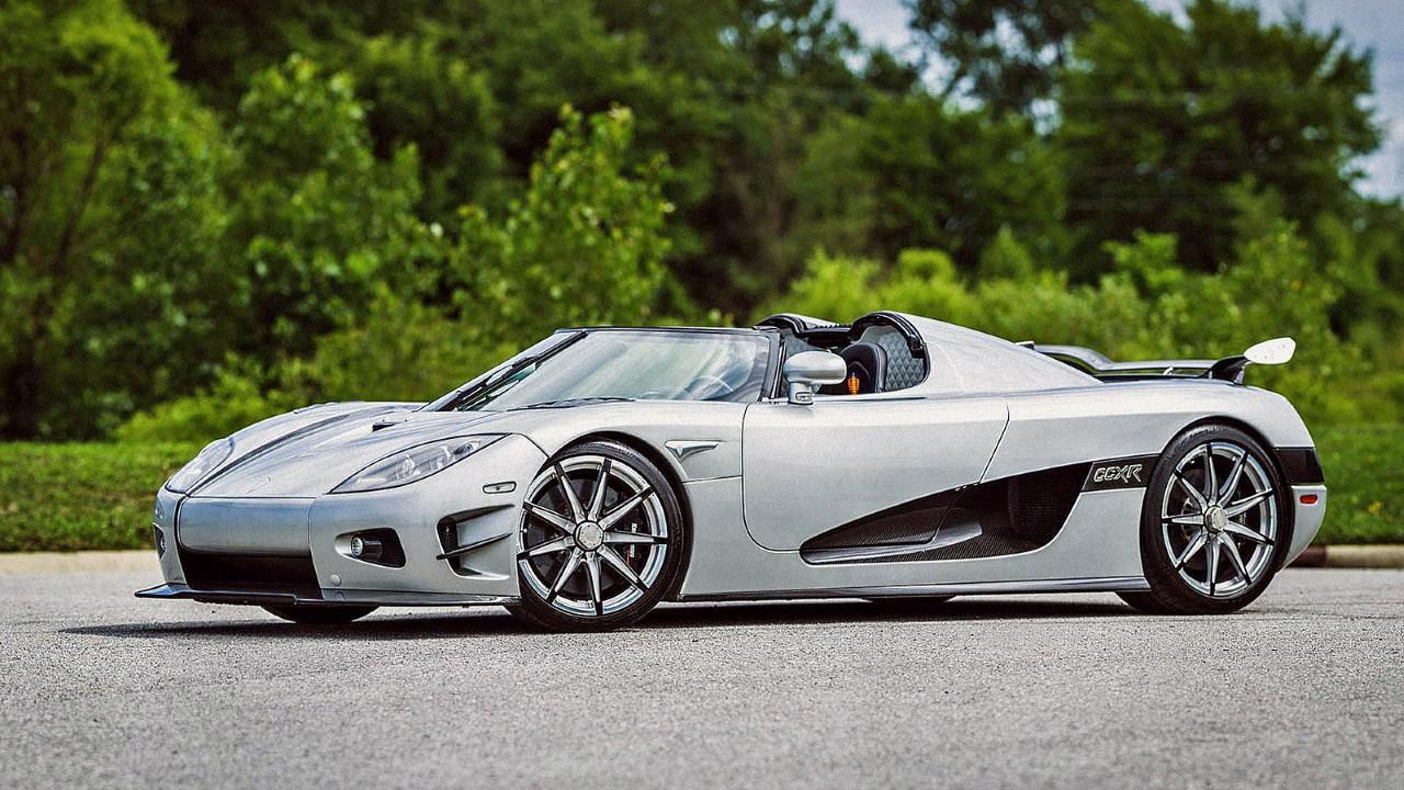 Редкий автомобиль Koenigsegg