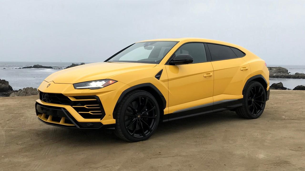 Первый внедорожник Lamborghini