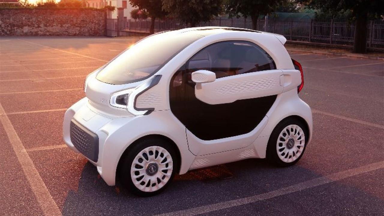 Напечатанный на 3D принтере автомобиль LSEV