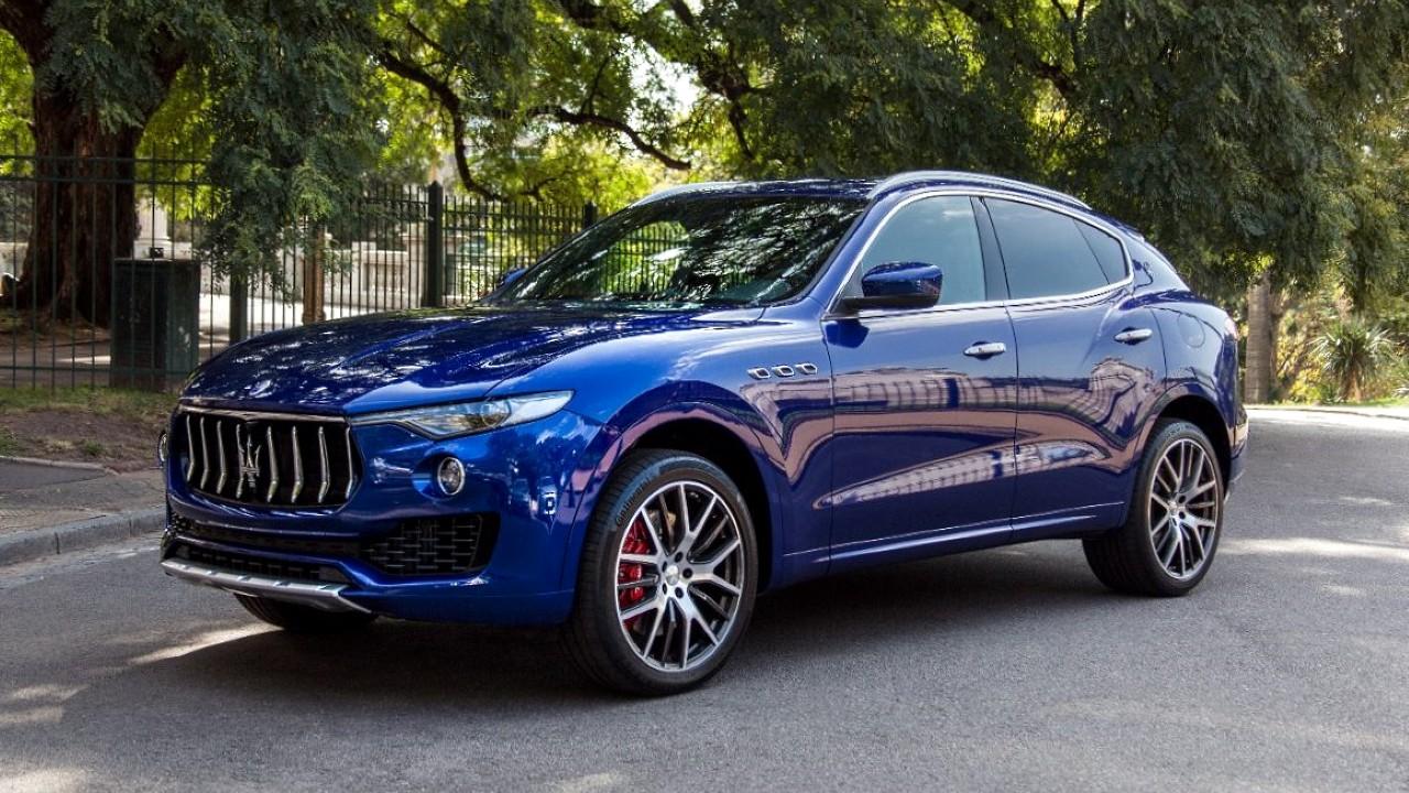 Первый внедорожник Maserati