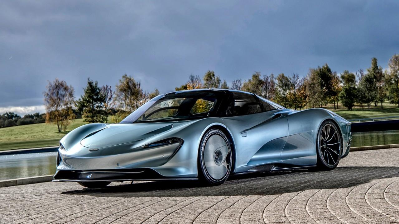 Гибридный автомобиль McLaren Speedtail