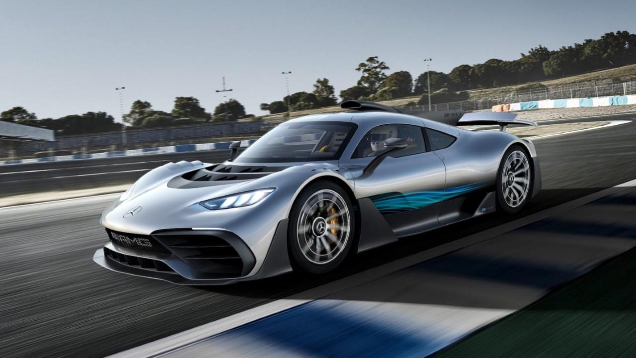 Гибридный автомобиль Mercedes-AMG Project One