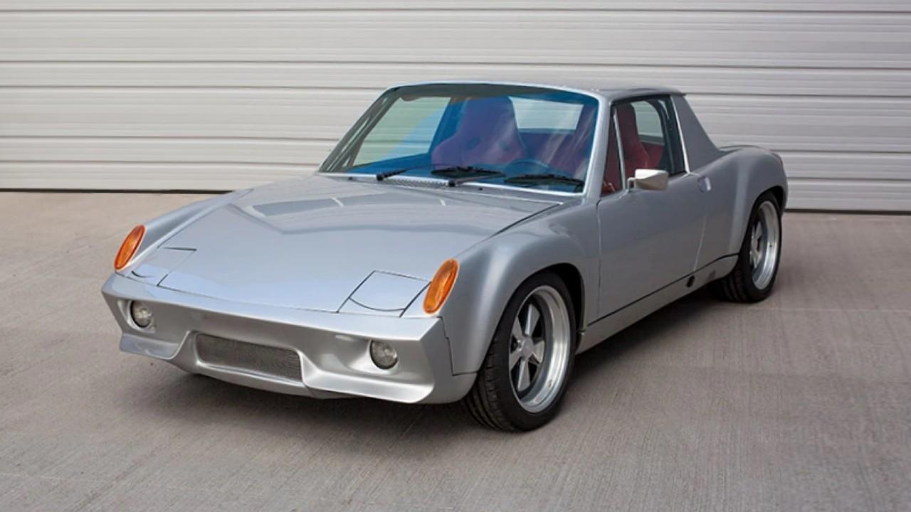Редкий автомобиль Porsche