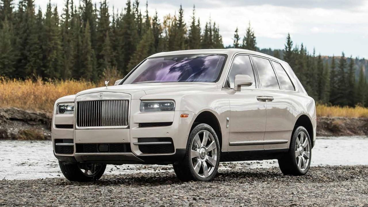Первый внедорожник Rolls Royce