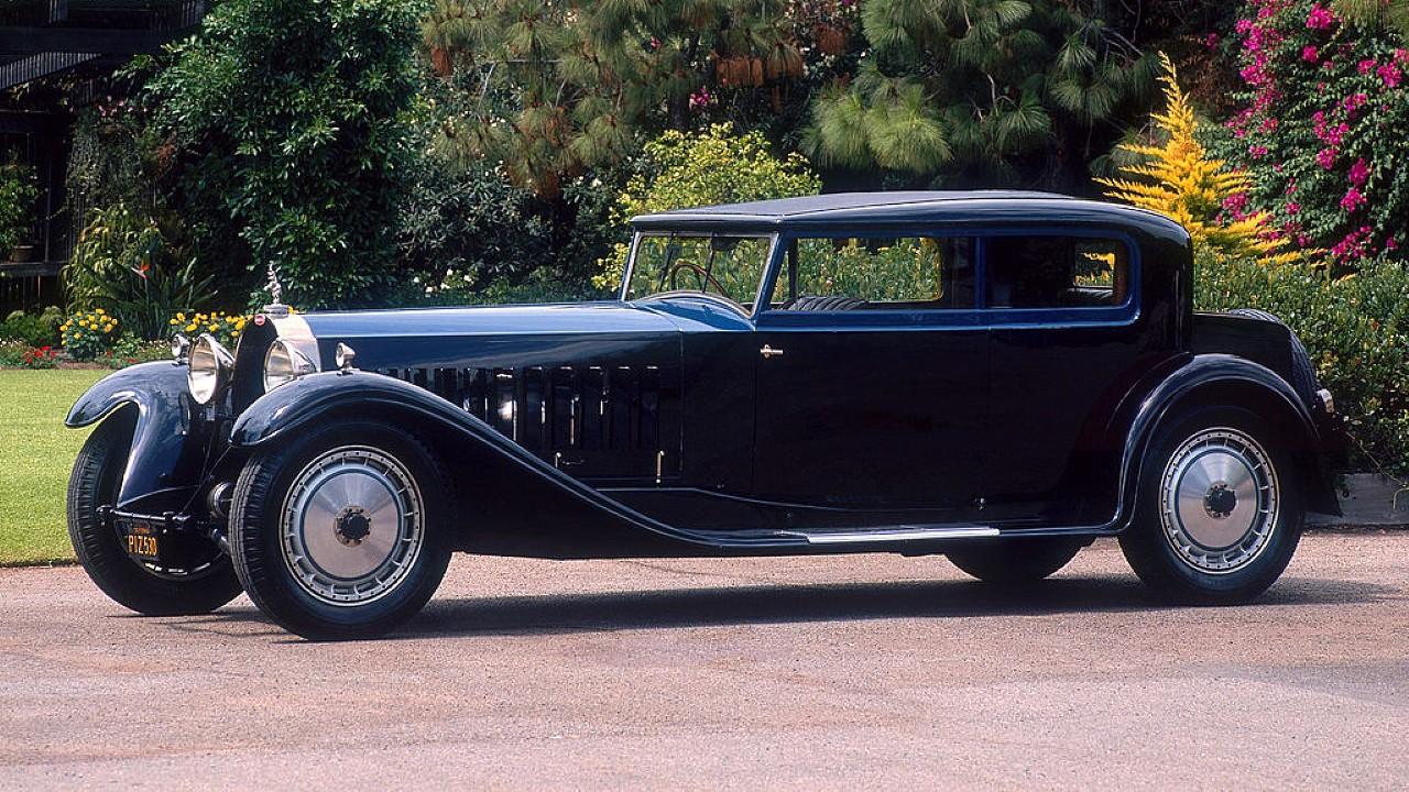 Редкий автомобиль Bugatti