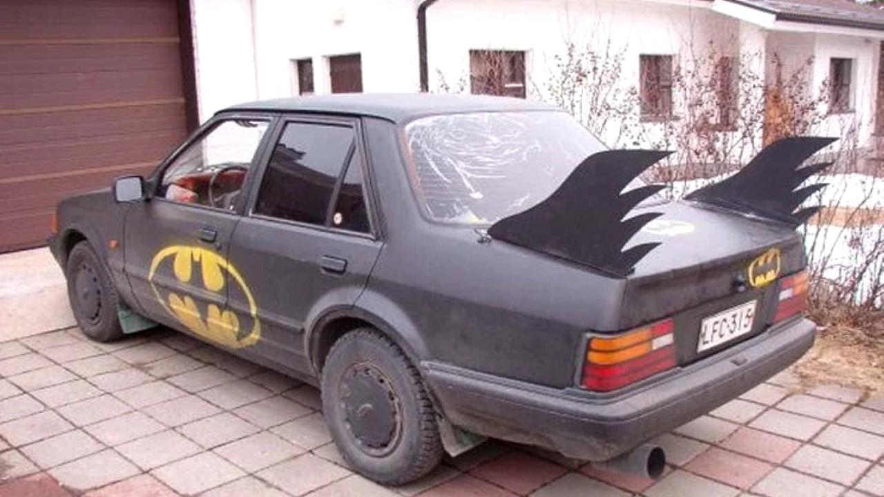Автомобили, над которыми жёстко поиздевались их владельцы