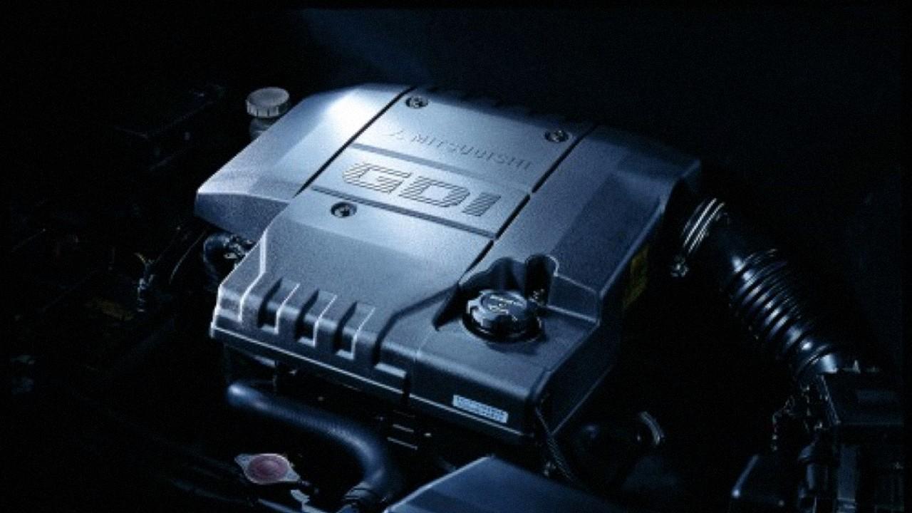 Двигатель Mitsubishi GDI